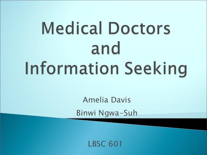 Amelia Davis Binwi Ngwa-Suh LBSC 601