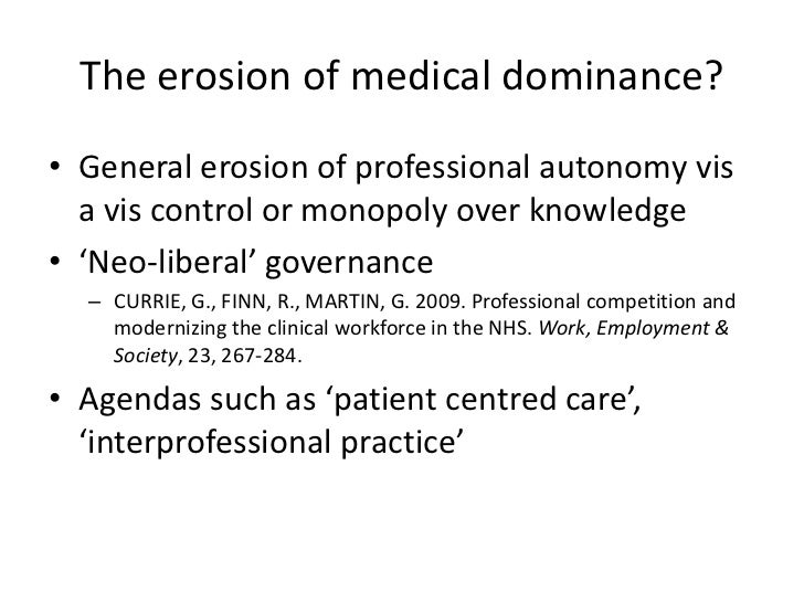 power and hierarchy in australian healthcare