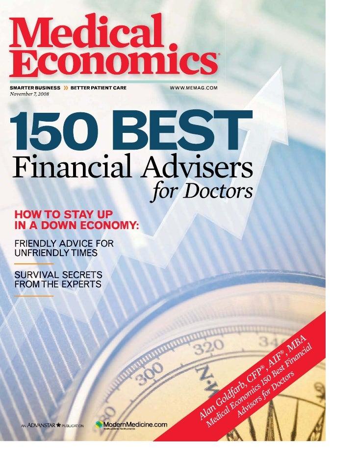 Medical Economics Top Advisors