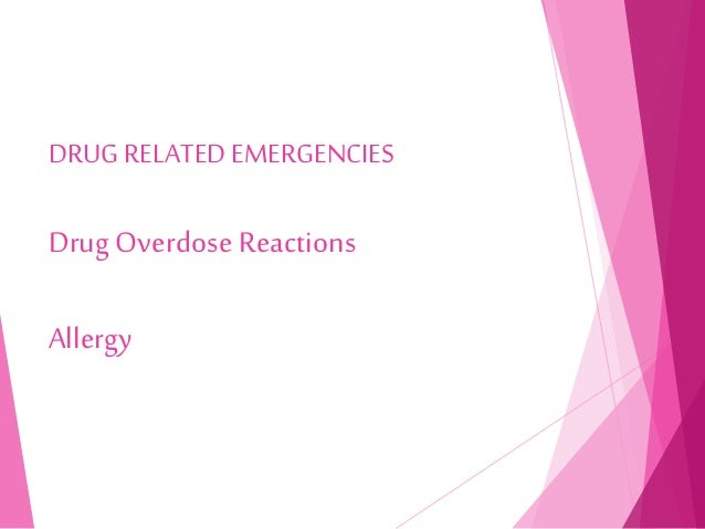 drug reaction recovery time
