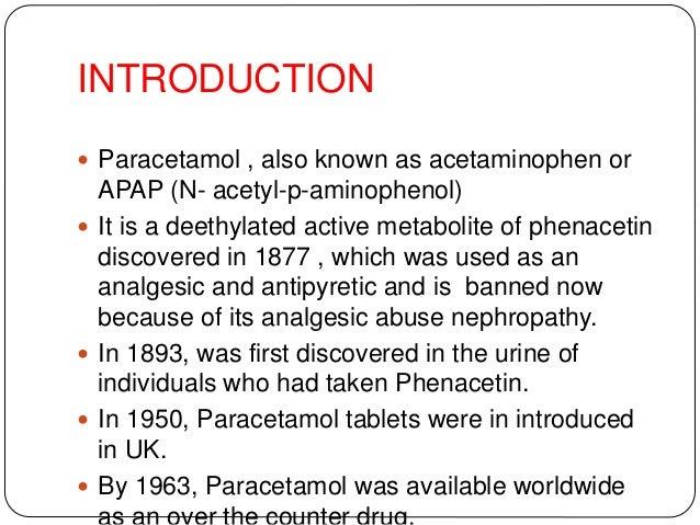 Medical emergency on paracetamol poisoning Slide 2