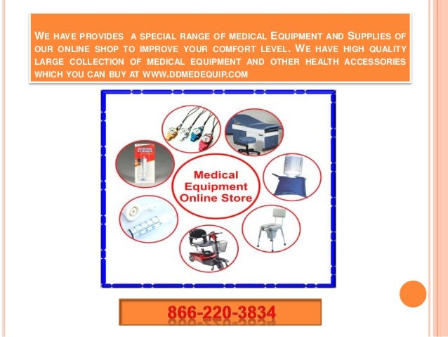 We are provides medical equipment online store nationwide ...