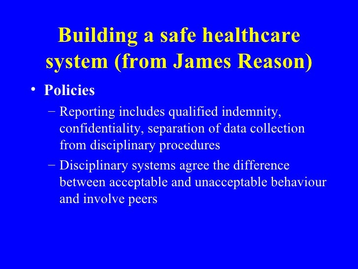 reducing error and increasing patient safety