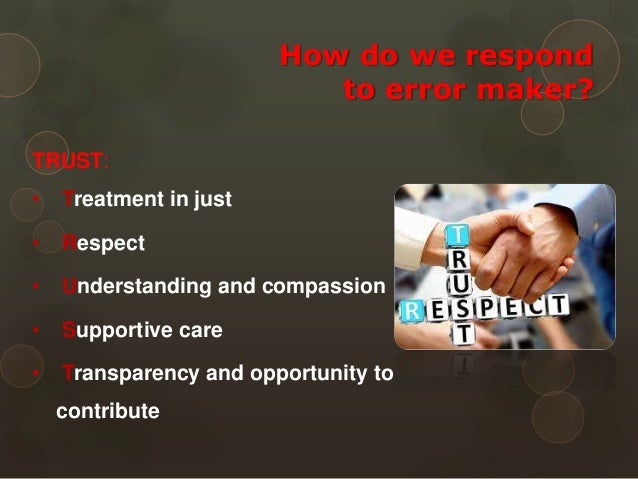 medical error disclosure case study Case report disclosure of medical error kiran shaikh the study 'to err is human: scenarios should be discussed at case base learning at.