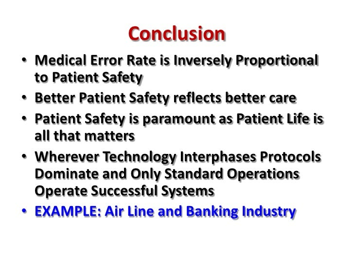 Medical Errors Emergency Medicine And