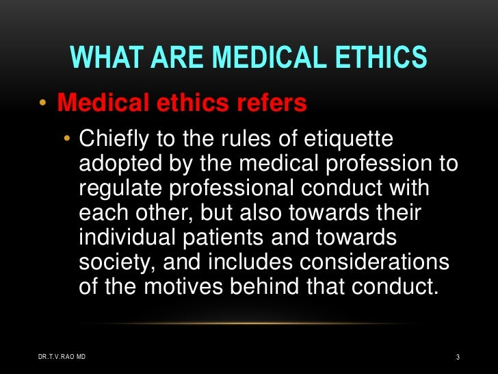 Medical ethics 3 what are medical ethics toneelgroepblik Image collections