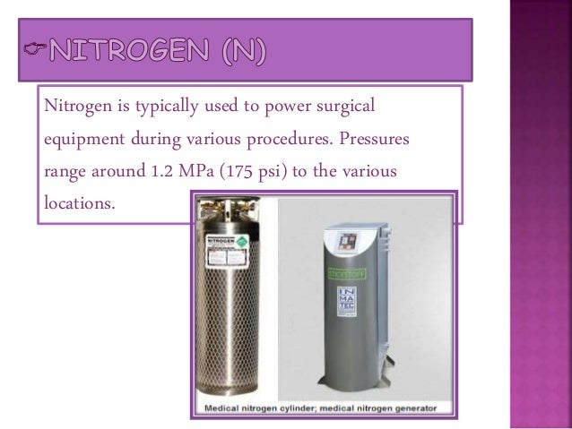 Nitrous Oxide is supplied to various surgical suites for its anesthetic functions during pre-operative procedures. Deliver...