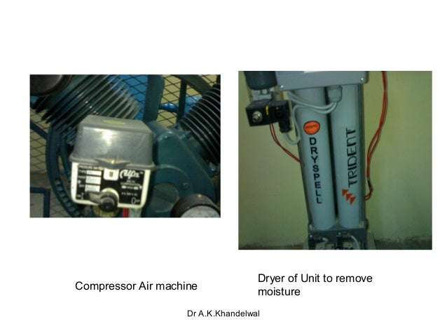 Medical Gas Supply System on Air Pressor Water Cooling System