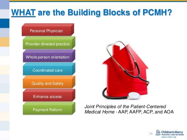 Person centered medical home model