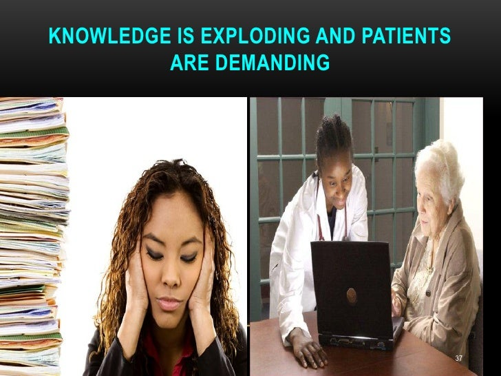 KNOWLEDGE IS EXPLODING AND PATIENTS           ARE DEMANDINGDR.T.V.RAO MD                           37