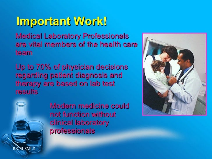 medical laboratory professionals  who are they