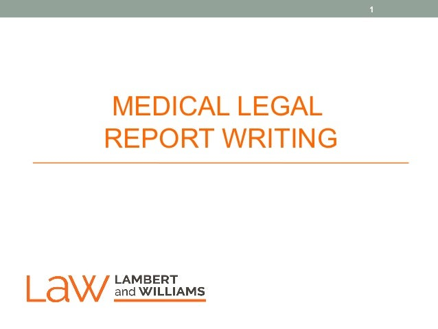 how to write a legal report Drafting legal documents, principles of clear writing home | previous | next principles of clear writing 1 write in the active voicethe active voice eliminates confusion by forcing you to name the actor in a sentence.