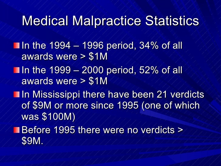 malpractice awards When patients accuse dentists of malpractice, they are alleging that the dentist's  services or advice violated a professional standard of care.