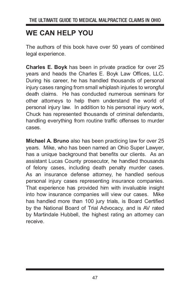 The Ultimate Guide to Medical Malpractice Claims in Ohio
