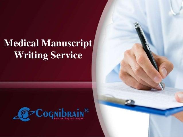 Medical Manuscript Writing Service