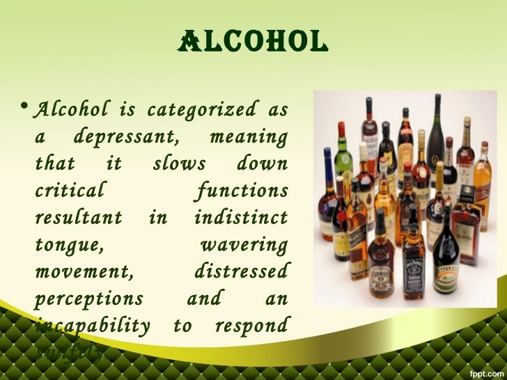 medical marijuana vs  alcohol