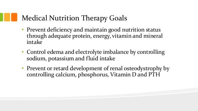 PROTEIN NEEDS • Dialysis drains body protein • 1.2 g of Pro for patients who receive HD three times a week • Albumin is a ...
