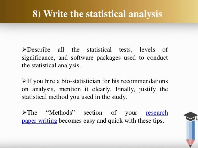How to Write the Methods Section of your Medical Paper