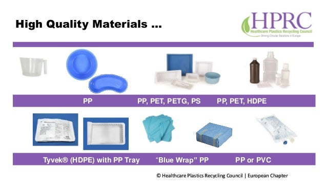 """© Healthcare Plastics Recycling Council 