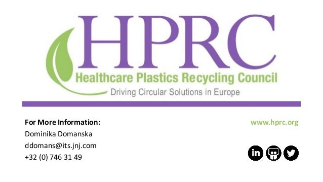 www.hprc.orgFor More Information: Dominika Domanska ddomans@its.jnj.com +32 (0) 746 31 49