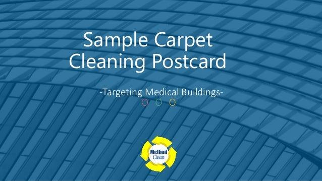 Sample carpet cleaning postcard sample carpet cleaning postcard targeting medical buildings altavistaventures Image collections