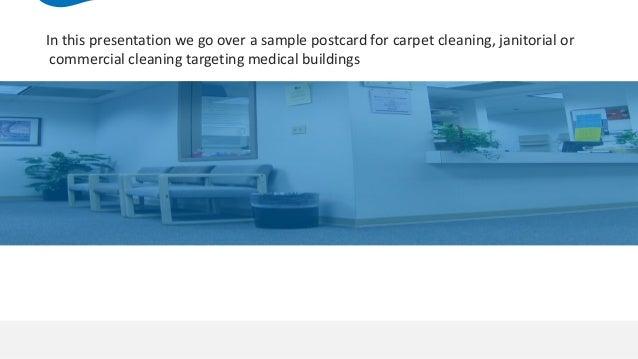 Sample carpet cleaning postcard sample carpet cleaning postcard targeting medical buildings 2 altavistaventures Image collections