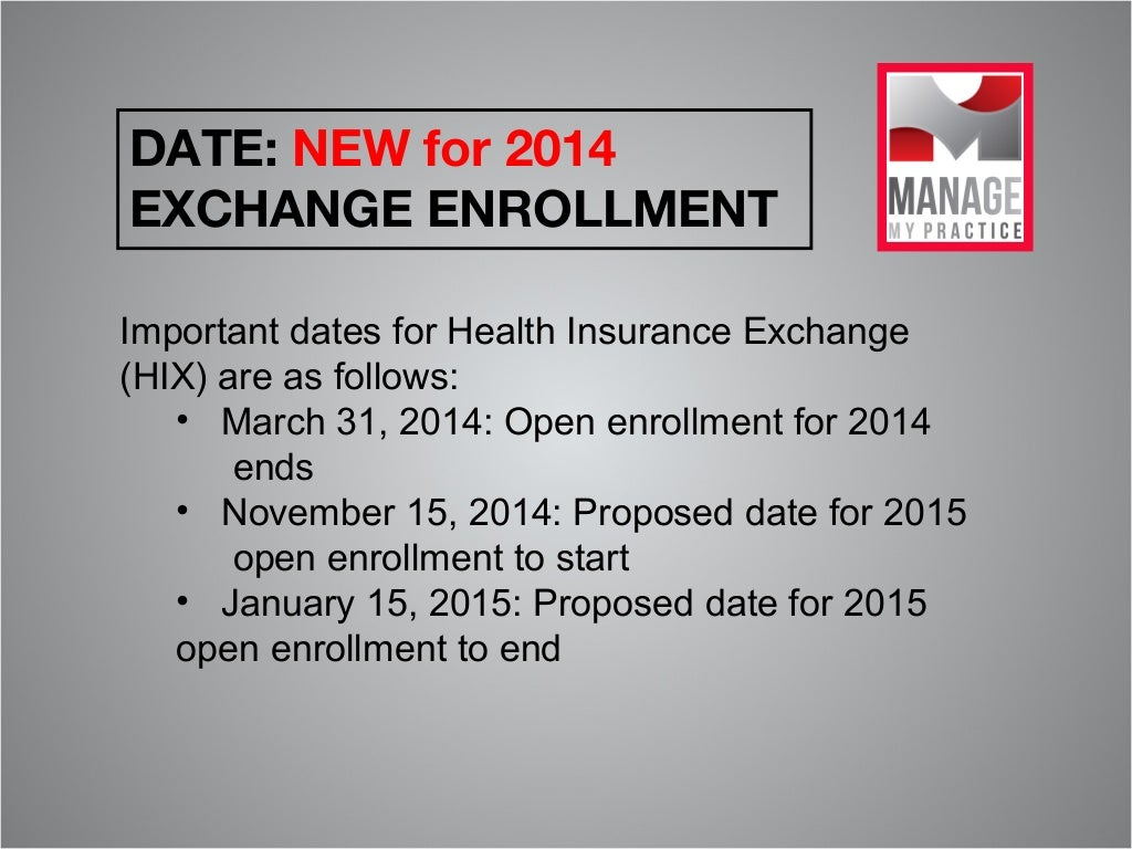 significant healthcare events Important notice: generally, if you choose to make a change to your enrollment, you must make the change within 60 days of the event outside of open season, you can enroll in the fehb.