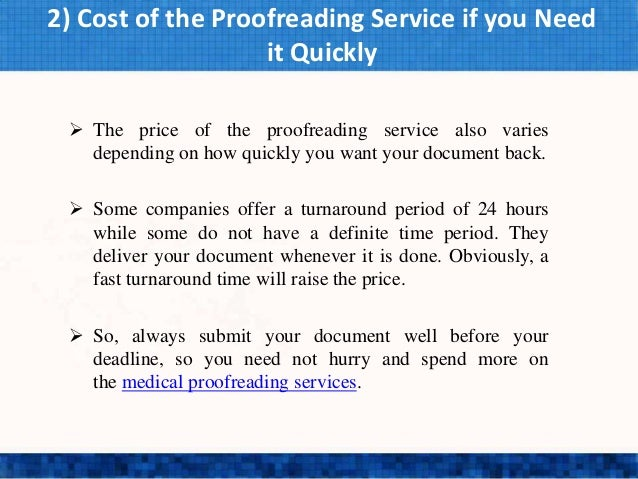 How to offer proofreading services