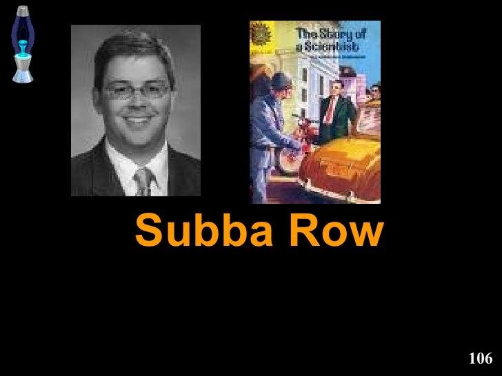 Subba Row