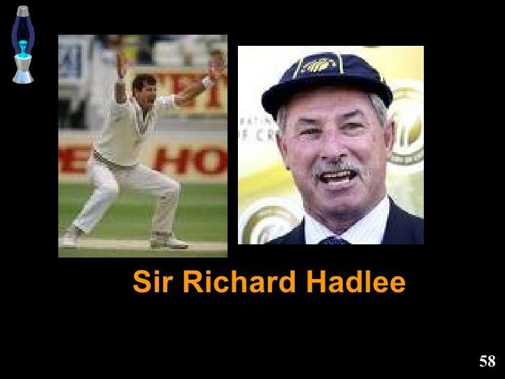 Sir Richard Hadlee