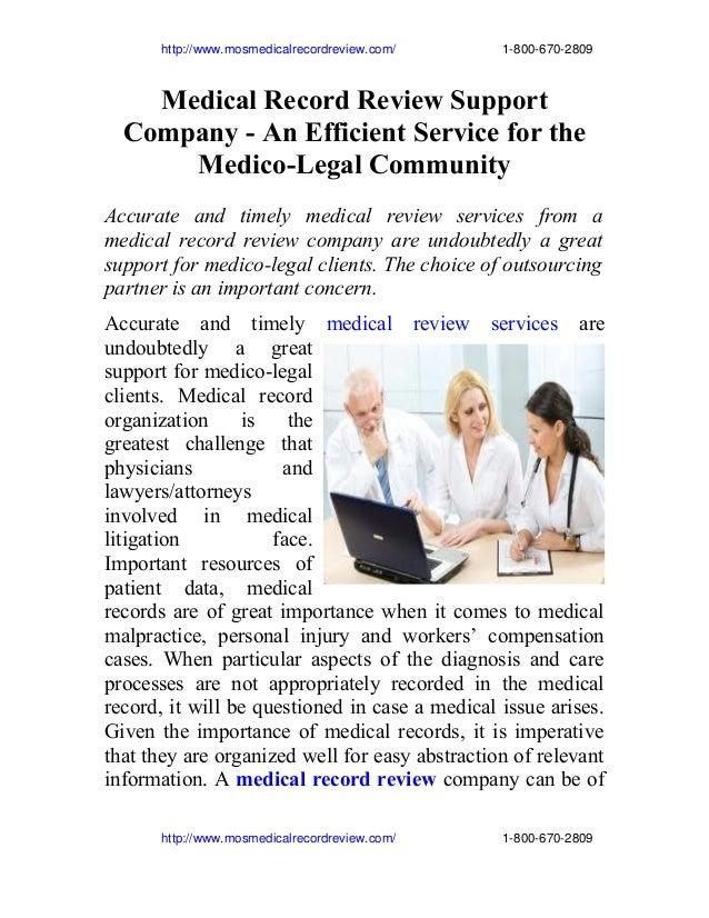 http://www.mosmedicalrecordreview.com/18006702809 Medical Record Review S...
