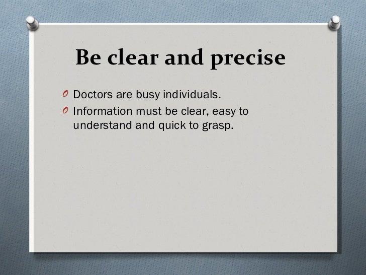 Medical representative tips Slide 3