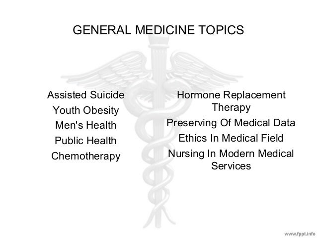 Research paper topic ideas medical