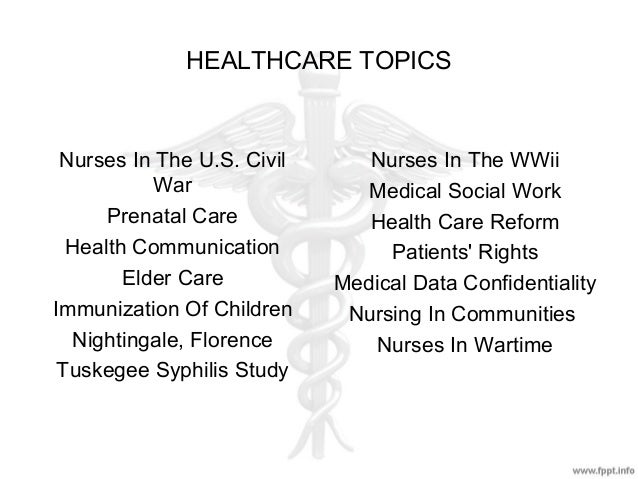 Research papers related to nursing