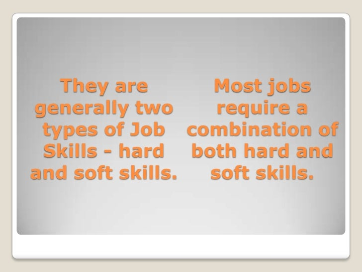SlideShare  Soft Skills Resume
