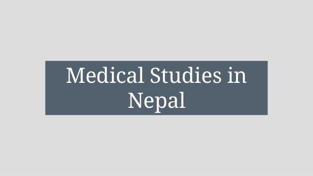Image result for medical studies in nepal