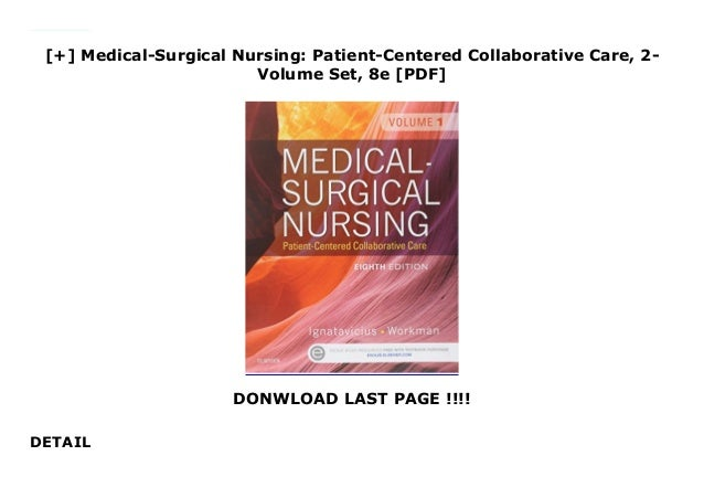 Medical Surgical Nursing Patient Centered Collaborative Care 2