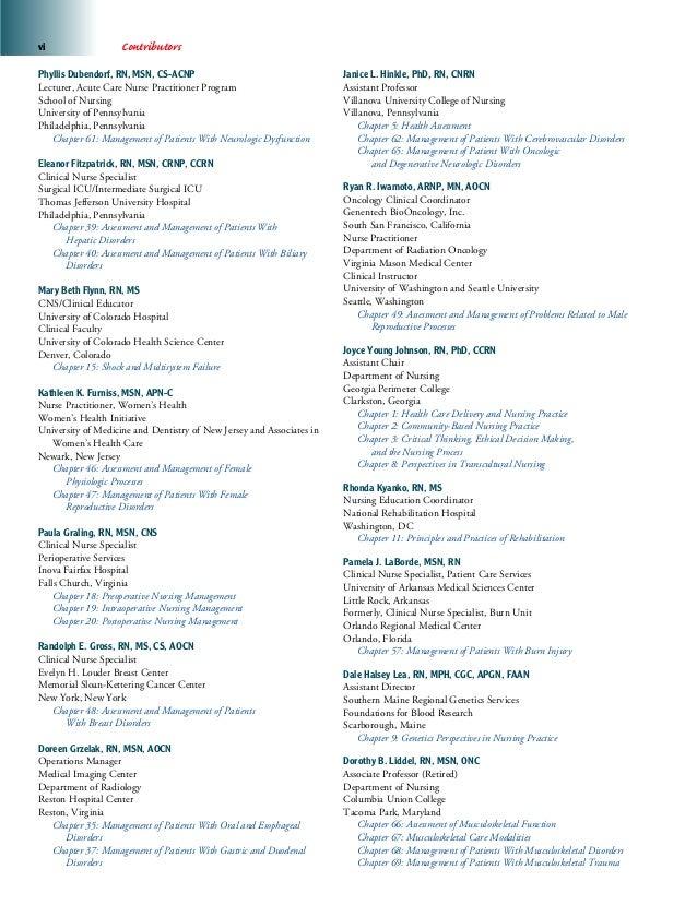 Medical Surgical Nursing 7th Edition Pdf