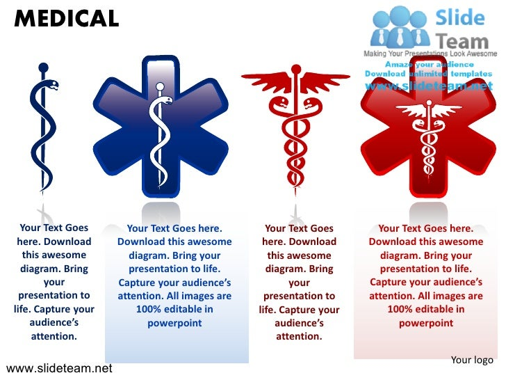 Medical Symbols Person Sick Injection Doctor Powerpoint Presentation