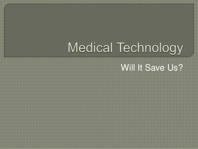 Will It Save Us?