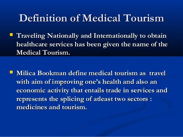medical tourism grp c