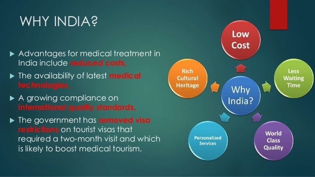 medical tourism industry in india That the medical tourism is one of the most growing sectors many countries  including india are very much interested in developing this tourism industry.