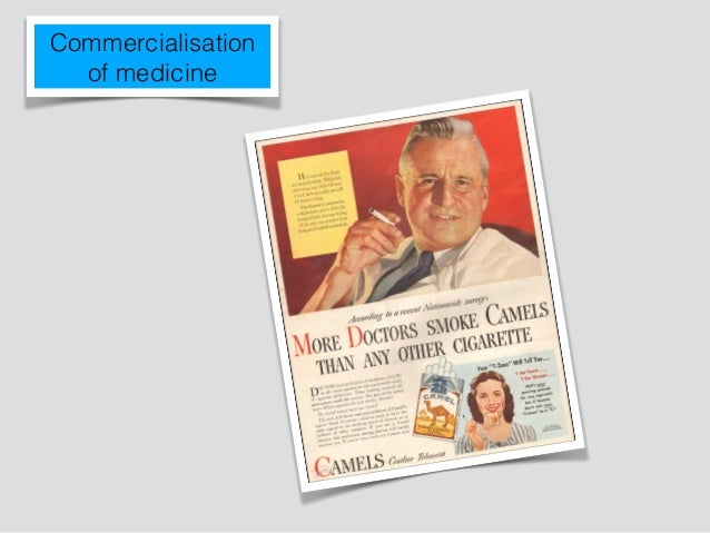 To understand what makes commercialism in medicine problematic…