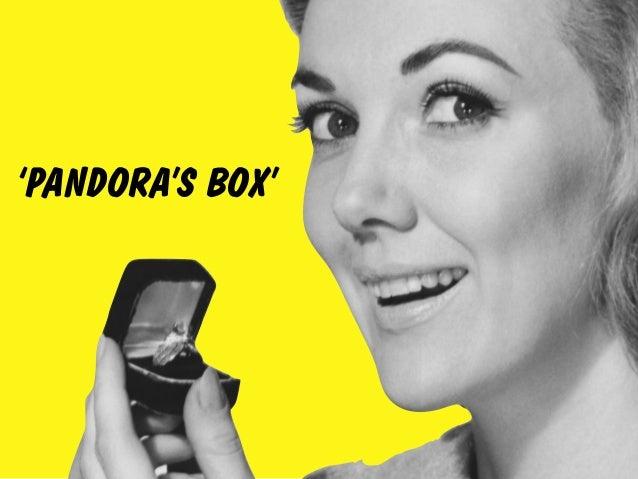'PANDORA'S BOX'
