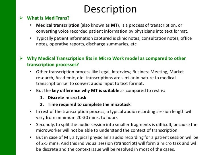 Lovely What Is A Medical Transcriptionist Job Description. Medical Transcription .