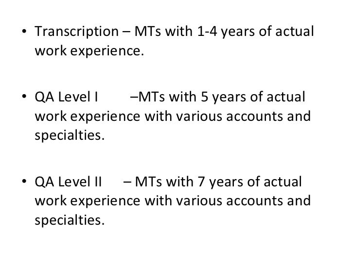 the future of medical transcription What does the future and career outlook look like for medical transcriptionists.