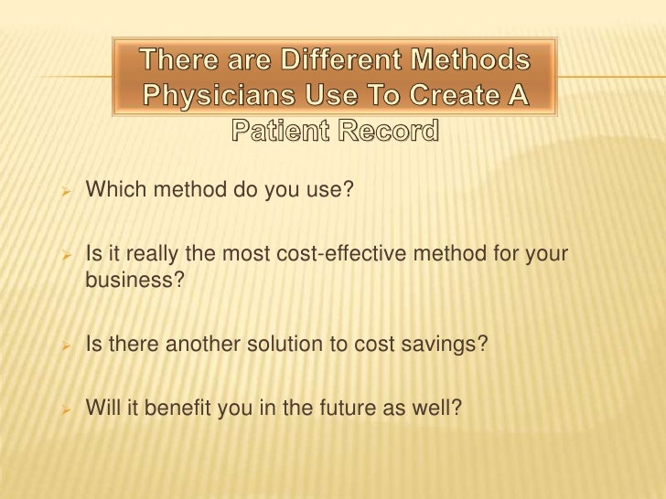 future of medical transcription The future of medical transcription one thing we can be sure about is that there will always be people visiting the doctor reasons for a doctor's visit vary from injuries to life threatening illnesses and the common cold, but no matter what the visit is, a report will need to be drawn up.