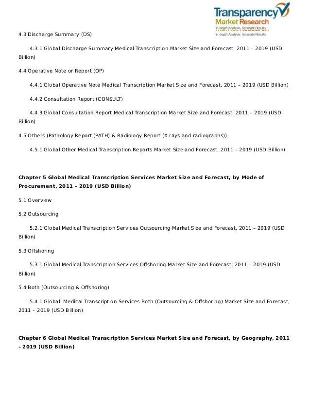Sample Operative Reports Medical Transcription