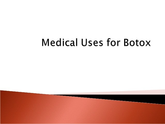 Most people probably recognize the name Botox as aproduct designed to eliminate fine lines and wrinkles inthe face. Its co...