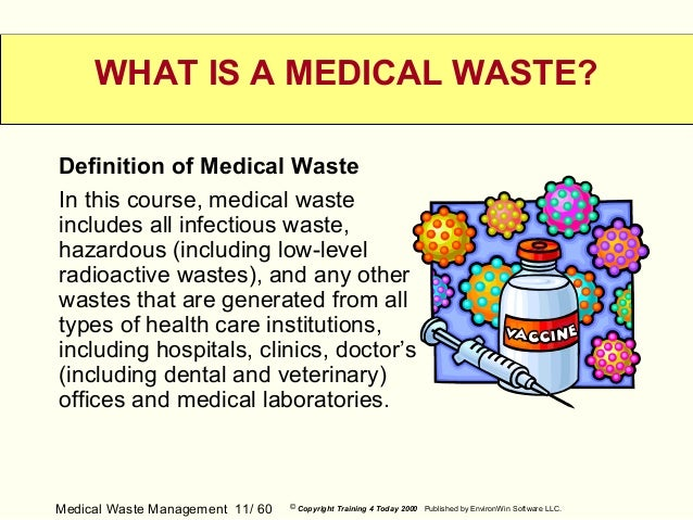 medical waste management Clinical waste management currently selected the  clinical waste means any waste resulting from medical, nursing, dental, pharmaceutical,.